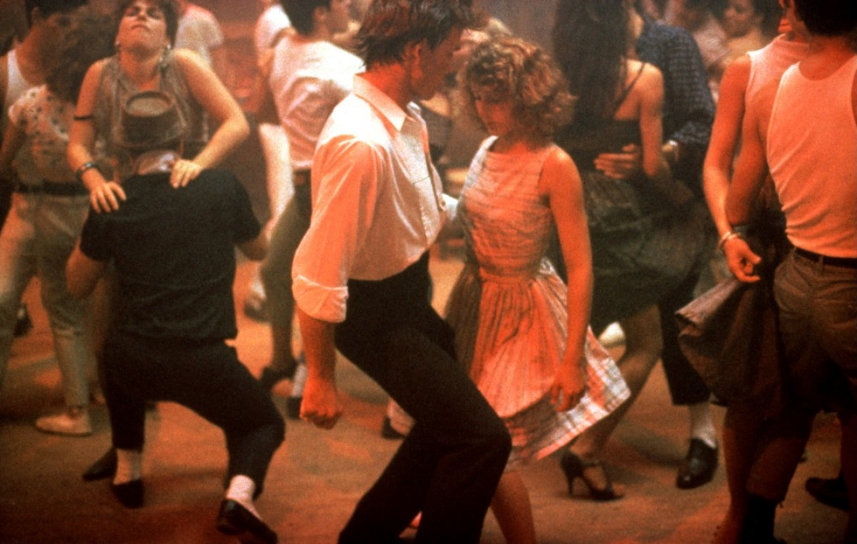 Jennifer Grey Dirty Dancing 1987 Style On The Screen